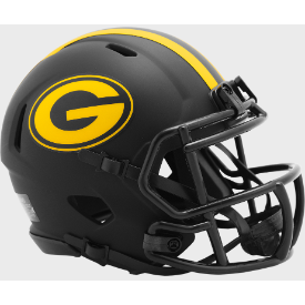 Green Bay Packers Riddell Speed ECLIPSE Mini Football Helmet