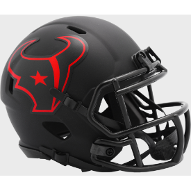 Houston Texans Riddell Speed ECLIPSE Mini Football Helmet