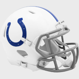 Indianapolis Colts Riddell Speed Mini Football Helmet ***New for 2020***