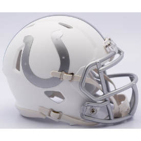 Indianapolis Colts ICE Riddell Speed Mini Football Helmet **DISCONTINUED**