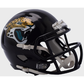 Jacksonville Jaguars Riddell Speed Mini Football Helmet