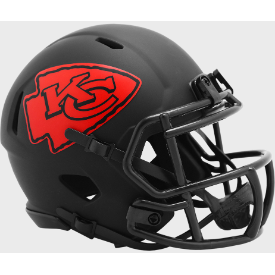 Kansas City Chiefs Riddell Speed ECLIPSE Mini Football Helmet
