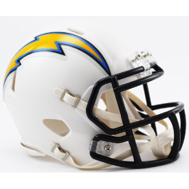 Los Angeles Chargers Riddell Speed Throwback 07-18 Mini Football Helmet
