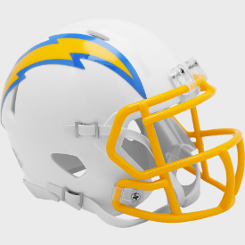 Los Angeles Chargers Riddell Speed Mini Football Helmet ***New for 2020***