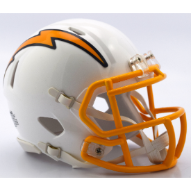 San Diego Chargers Color Rush 2016 Riddell Speed Mini Football Helmet