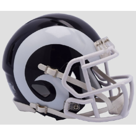 Los Angeles Rams 2017 Riddell Speed Mini Football Helmet