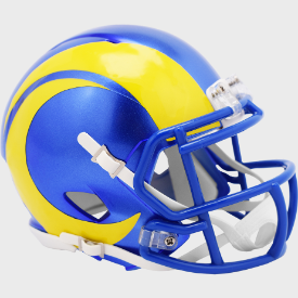 Los Angeles Rams Riddell Speed Mini Football Helmet ***New for 2020***