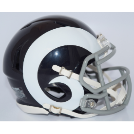 Los Angeles Rams Color Rush 2016 Riddell Speed Mini Football Helmet  ***DISCONTINUED***