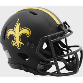 New Orleans Saints Riddell Speed ECLIPSE Mini Football Helmet