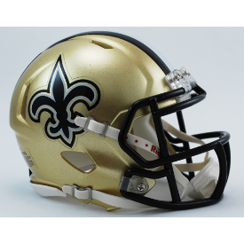 New Orleans Saints Riddell Speed Mini Football Helmet
