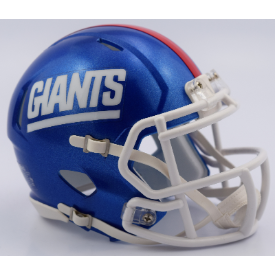 New York Giants Color Rush 2017 Riddell Speed Mini Football Helmet