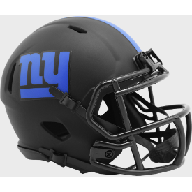 New York Giants Riddell Speed ECLIPSE Mini Football Helmet