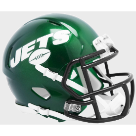 New York Jets Riddell Speed Mini Football Helmet