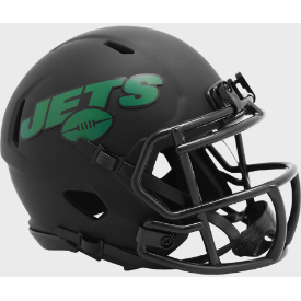 New York Jets Riddell Speed ECLIPSE Mini Football Helmet