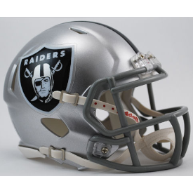 Las Vegas Raiders Riddell Speed Mini Football Helmet