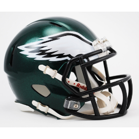 Philadelphia Eagles Riddell Speed Mini Football Helmet