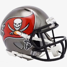 Tampa Bay Buccaneers Riddell Speed Mini Football Helmet ***New for 2020***