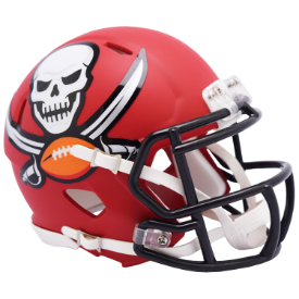 Tampa Bay Buccaneers Riddell Speed AMP Mini Football Helmet