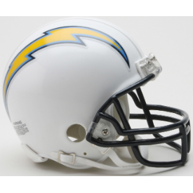 Los Angeles Chargers Riddell VSR-4 Throwback 07-18 Mini Football Helmet