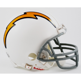 San Diego Chargers Riddell VSR-4 Throwback 61-73 Mini Football Helmet