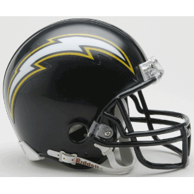 San Diego Chargers Riddell VSR-4 Throwback 88-06 Mini Football Helmet