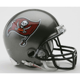 Tampa Bay Buccaneers Riddell VSR-4 Throwback 97-13 Mini Football Helmet