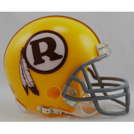 Washington Redskins Riddell VSR-4 Throwback 70-71 Mini Football Helmet