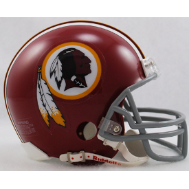 Washington Redskins Riddell VSR-4 Throwback 72-77 Mini Football Helmet