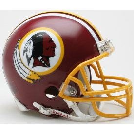 Washington Redskins Riddell VSR-4 Throwback 1982 Mini Football Helmet