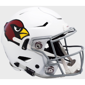Arizona Cardinal Riddell SpeedFlex Full Size Authentic Football Helmet