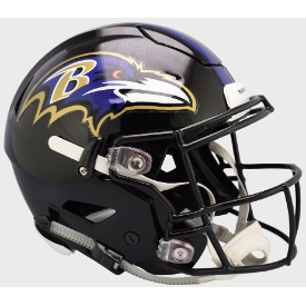 Baltimore Ravens Riddell SpeedFlex Full Size Authentic Football Helmet