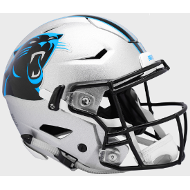 Carolina Panthers Riddell SpeedFlex Full Size Authentic Football Helmet