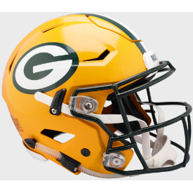 Green Bay Packers Riddell SpeedFlex Full Size Authentic Football Helmet