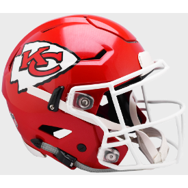 Kansas City Chiefs Riddell SpeedFlex Full Size Authentic Football Helmet