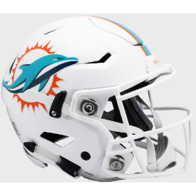 Miami Dolphins Riddell SpeedFlex Full Size Authentic Football Helmet