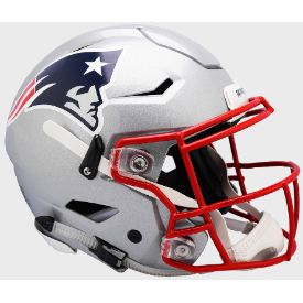 New England Patriots Riddell SpeedFlex Full Size Authentic Football Helmet