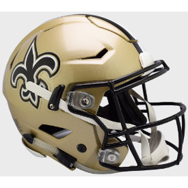 New Orleans Saints Riddell SpeedFlex Full Size Authentic Football Helmet