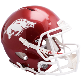 Arkansas Razorbacks Riddell Speed Authentic Full Size Football Helmet