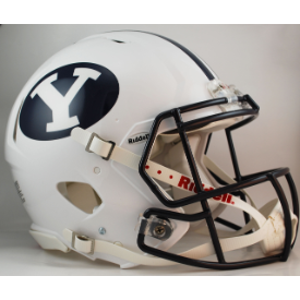 Brigham Young Cougars Riddell Speed Authentic Full Size Football Helmet