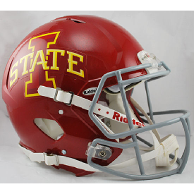 Iowa State Cyclones Riddell Speed Authentic Full Size Football Helmet
