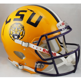 LSU Tigers Riddell Speed Authentic Full Size Football Helmet