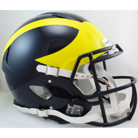 Michigan Wolverines Riddell Speed Authentic Full Size Football Helmet
