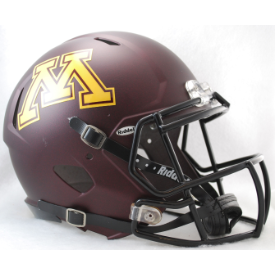 Minnesota Golden Gophers Riddell Speed Authentic Full Size Football Helmet