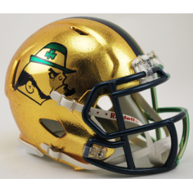 Notre Dame Fighting Irish 2015 Boston Riddell Speed Authentic Full Size Football Helmet