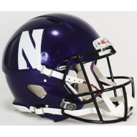 Northwestern Wildcats Riddell Speed Authentic Full Size Football Helmet