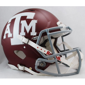 Texas A&M Aggies Riddell Speed Authentic Full Size Football Helmet