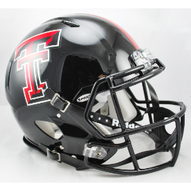 Texas Tech Red Raiders Riddell Speed Authentic Full Size Football Helmet