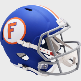 Florida Gators Blue Riddell Speed Authentic Full Size Football Helmet