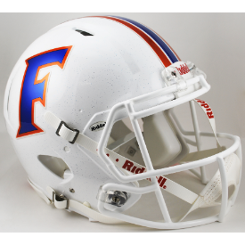 Florida Gators White Riddell Speed Authentic Full Size Football Helmet