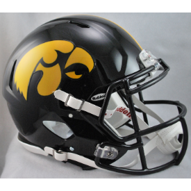 Iowa Hawkeyes Riddell Speed Authentic Full Size Football Helmet